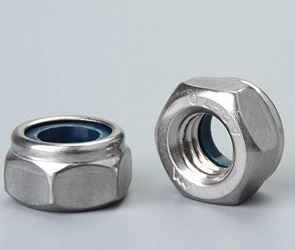 Nylock Self Locking Nuts Fasteners Manufacturers in India